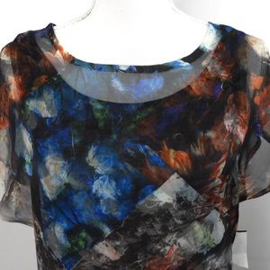 energié world wear Tops - T521 energié world wear multi color blouse size s